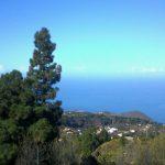 Vue ouest sur la montagne de Matos