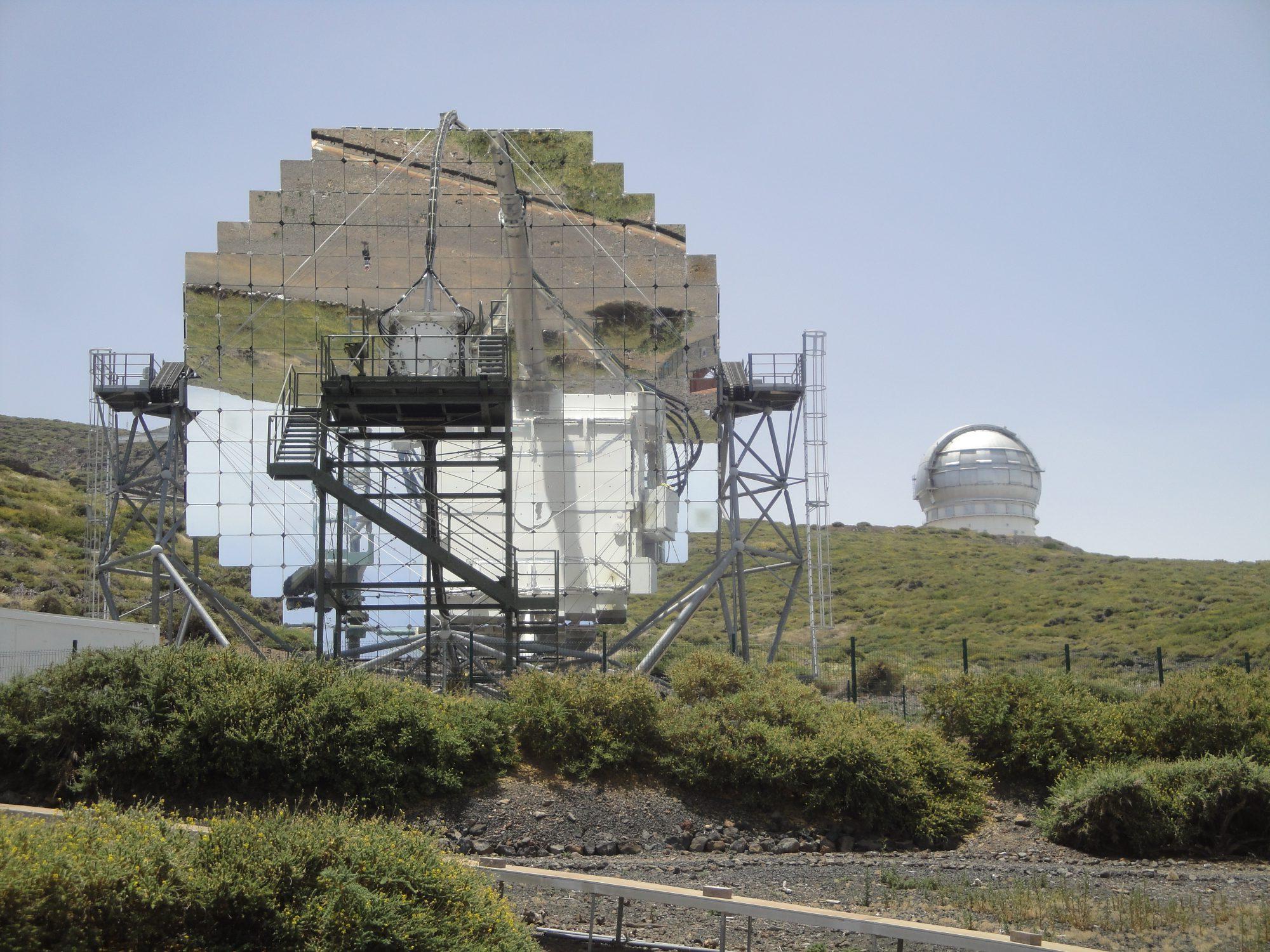 MAGIC, télescope IACT