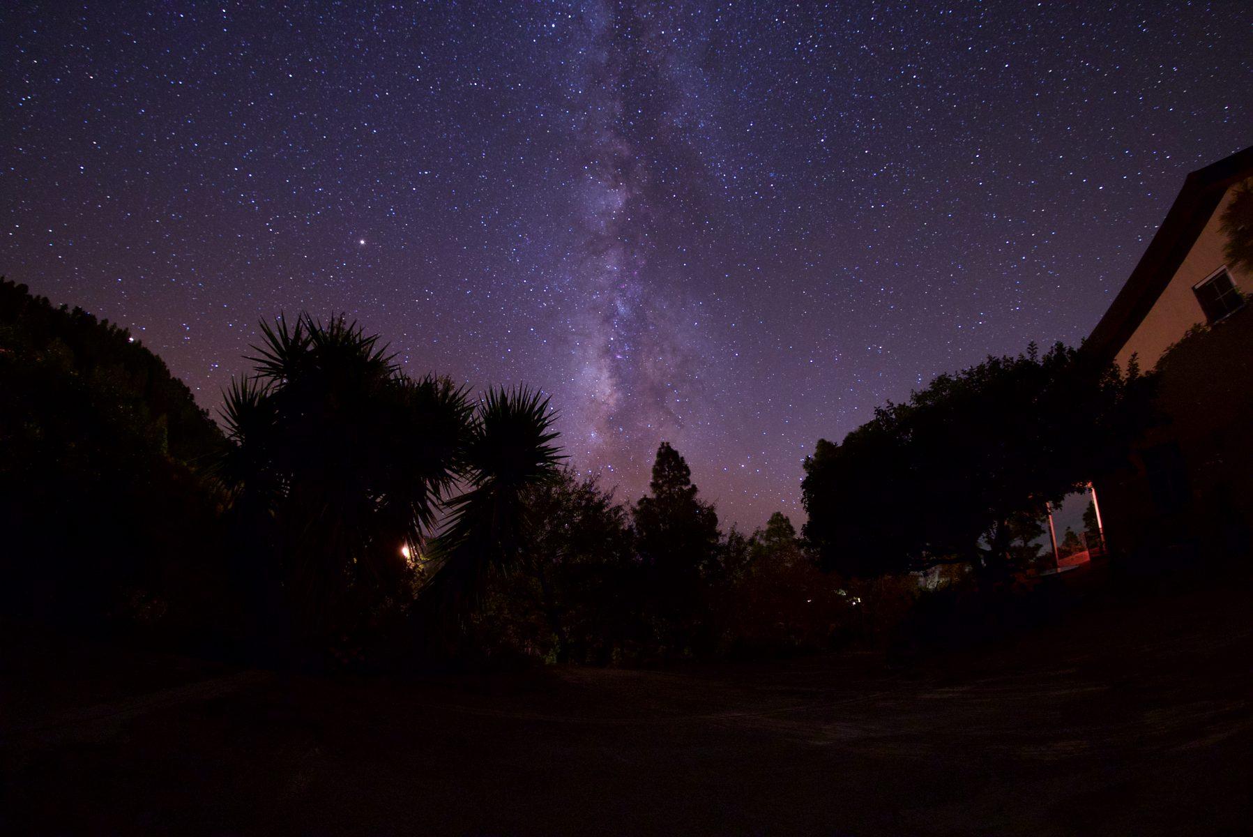 Voie lactée photographiée par Olivier Garnier depuis le site Casa Astro La Palma,